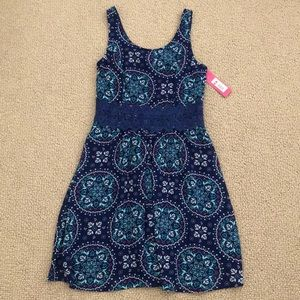 Floral dress new with tag
